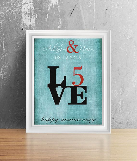 17 Best ideas about 5 Year Anniversary Gift on Pinterest