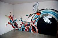 This would make a beautiful wall! Modern Birds Wall Murals ...