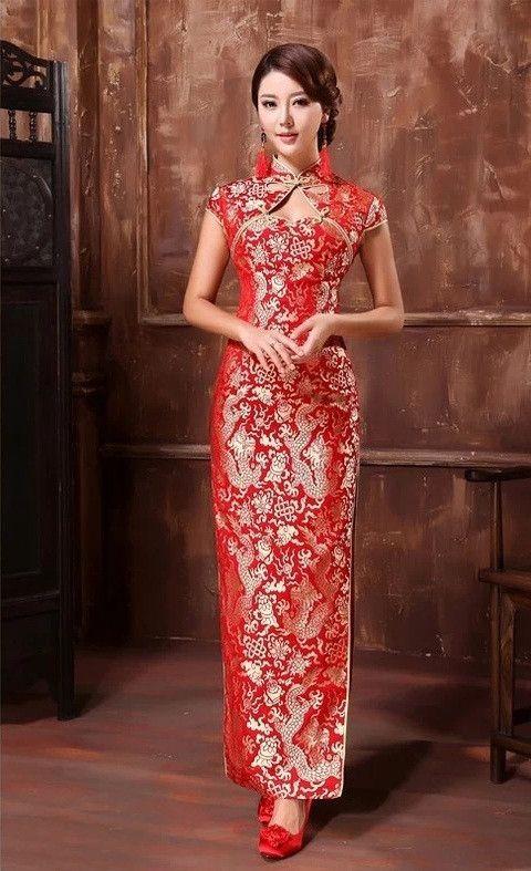 Chinese Style Wedding Dress