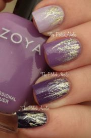 1000 ideas purple nail design