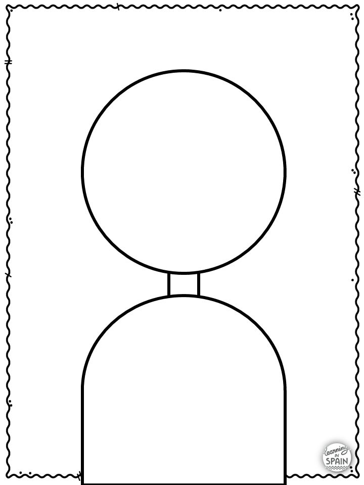 Back To Back Drawing Activity Templates