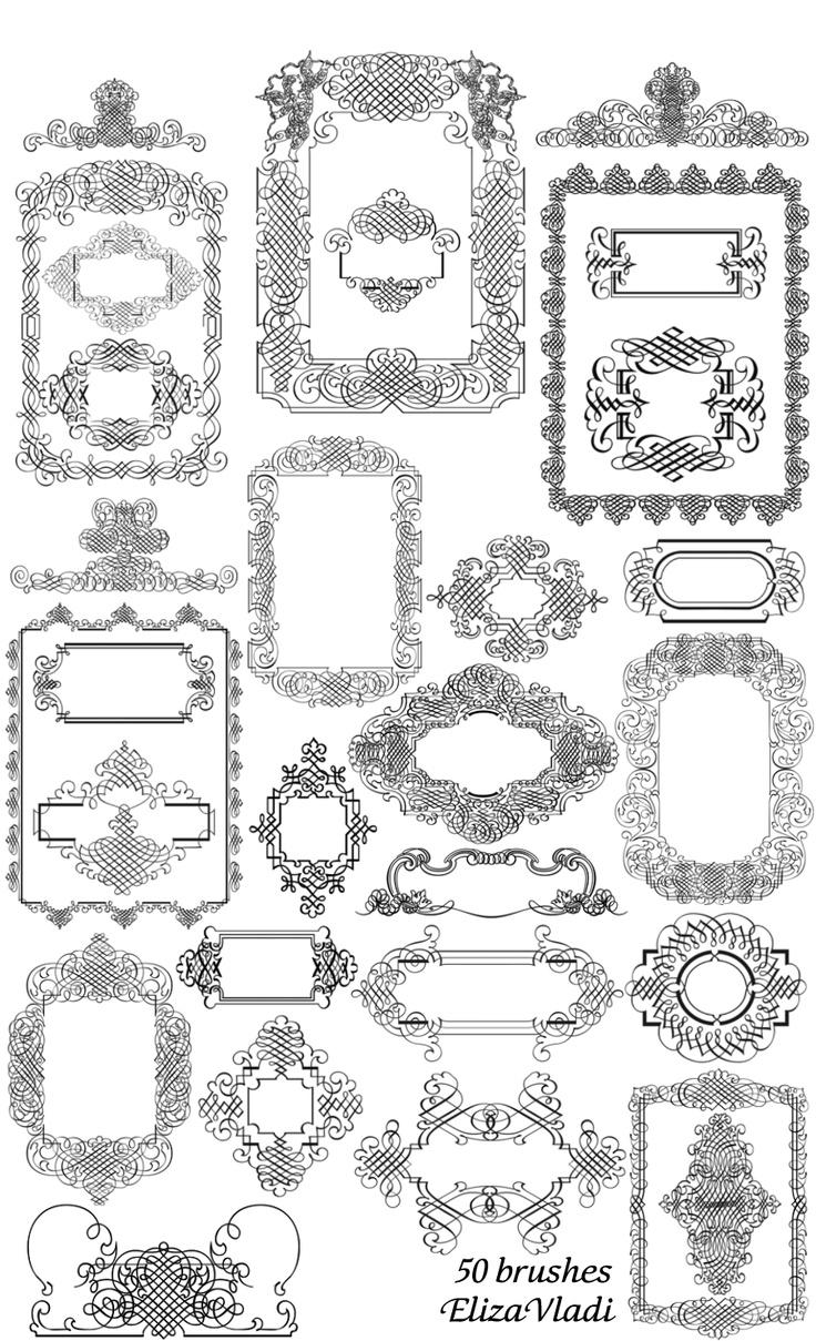 132 best images about Clipart, design elements for label