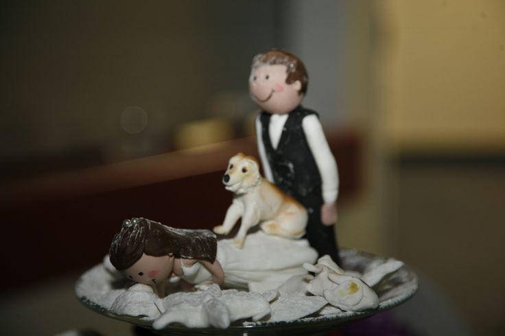 Naughty Wedding Cake Toppers