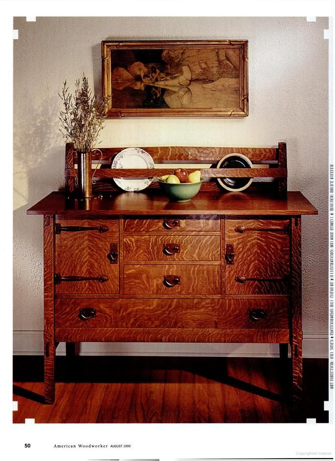Mission Style Sideboard Tutorial Mission Furniture Plans Pinterest Book Style And Tutorials