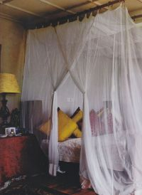 We want to get a Canopy Bed just like the one shown in the ...