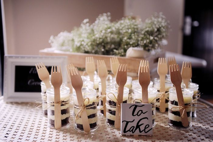 Cake In A Takehome Pack! Indoor Garden Dinner Party With Such