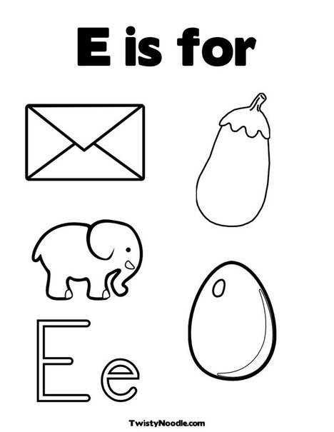 75 best images about letter E on Pinterest