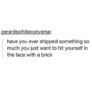 There aren't enough bricks in the world. | Community Post: 17 Struggles Of Having An OTP