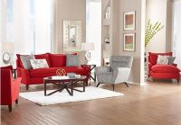 Shop for a Sofia Vergara Catalina Ruby 7 Pc Living Room at ...