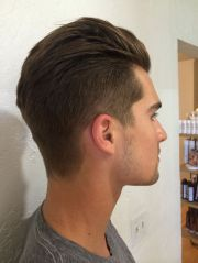 men's haircut undercut fade