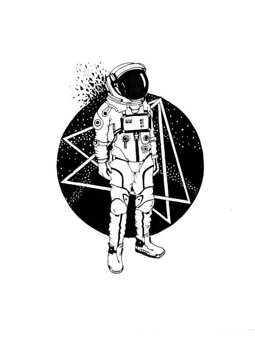 1000+ ideas about Astronaut Illustration on Pinterest