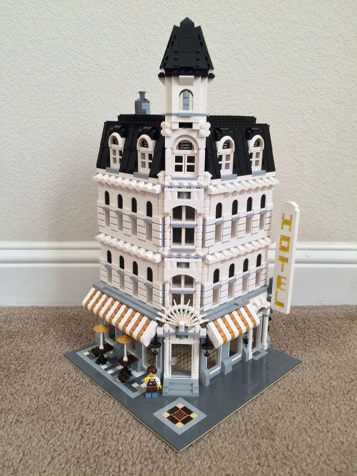 My First Custom Build Lego Modified Cafe Corner Lego