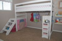 DIY Twin Loft Bed...for under $100! | For less ...