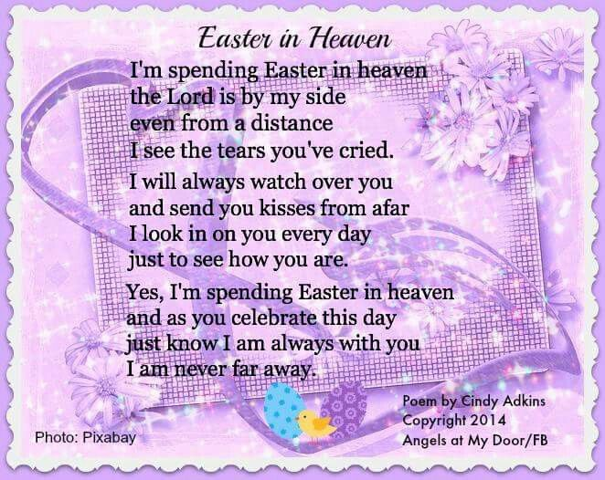 Easter Messages Loved Ones