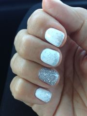 white gel nails ideas