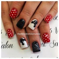 Best 25+ Mickey mouse nails ideas only on Pinterest ...