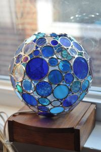 25+ best ideas about Stained glass lamp shades on ...