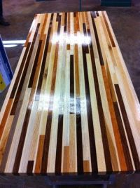 Scrap Wood Table Top | Ideas for the House | Pinterest ...