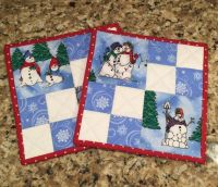25+ best ideas about Quilted Potholders on Pinterest ...