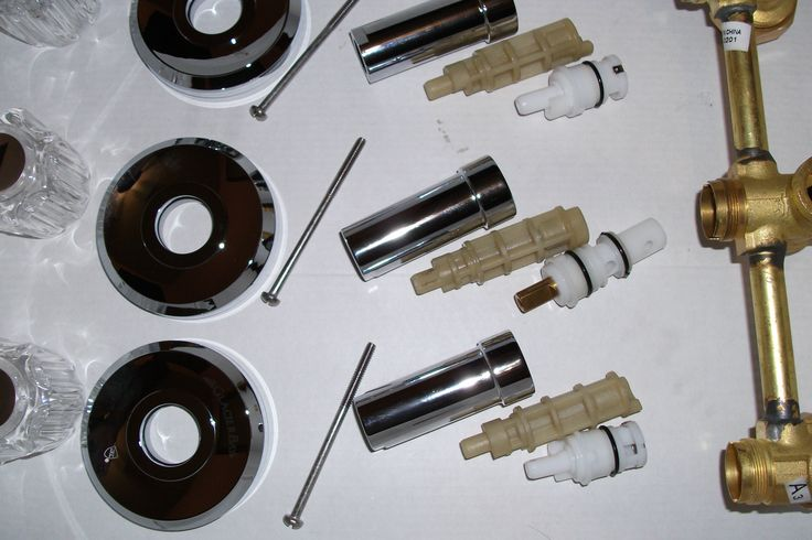 moen kitchen faucet repair diagram boat electrical wiring diagrams instructions glacier bay 3 handle tub shower parts | home repairs pinterest ...