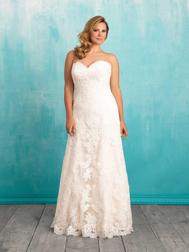 17 Best ideas about Curvy Wedding Dresses 2017 on