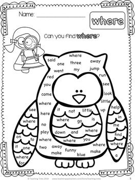 25+ best ideas about High Frequency Words on Pinterest