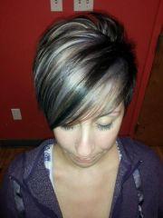 ideas gray hair highlights