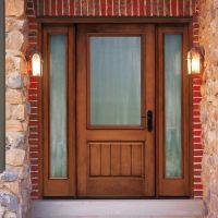 Thermatru Classic Craft Rustic Fiberglass Entry Door with ...