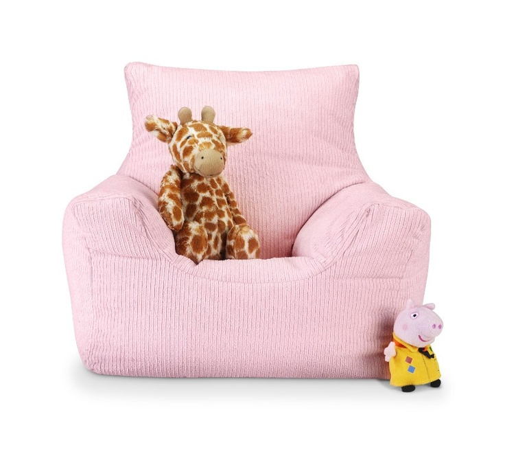 classy bean bag chairs gliding adirondack chair plans girls pink cord toddler | sweet little girl pinterest chairs, furniture and