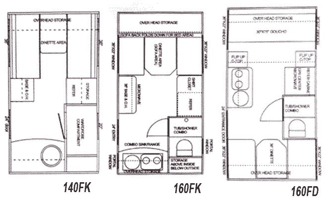 134 best images about Floor Plans for Campers, Trailers