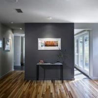 Slate grey accent wall | Home | Pinterest | Shades of grey ...