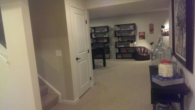 Finished Basement in the Venice at Ryan Homes  Model Homes  Pinterest  Models Home and