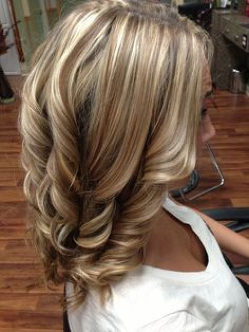 Blonde Highlights with Brown Lowlights | Blonde highlights and lowlights fall hair fall trend www.GINABIANCAHAI ...: