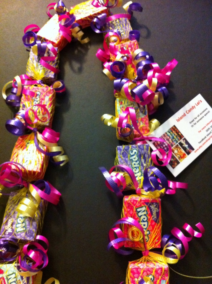 1000+ ideas about Candy Leis on Pinterest