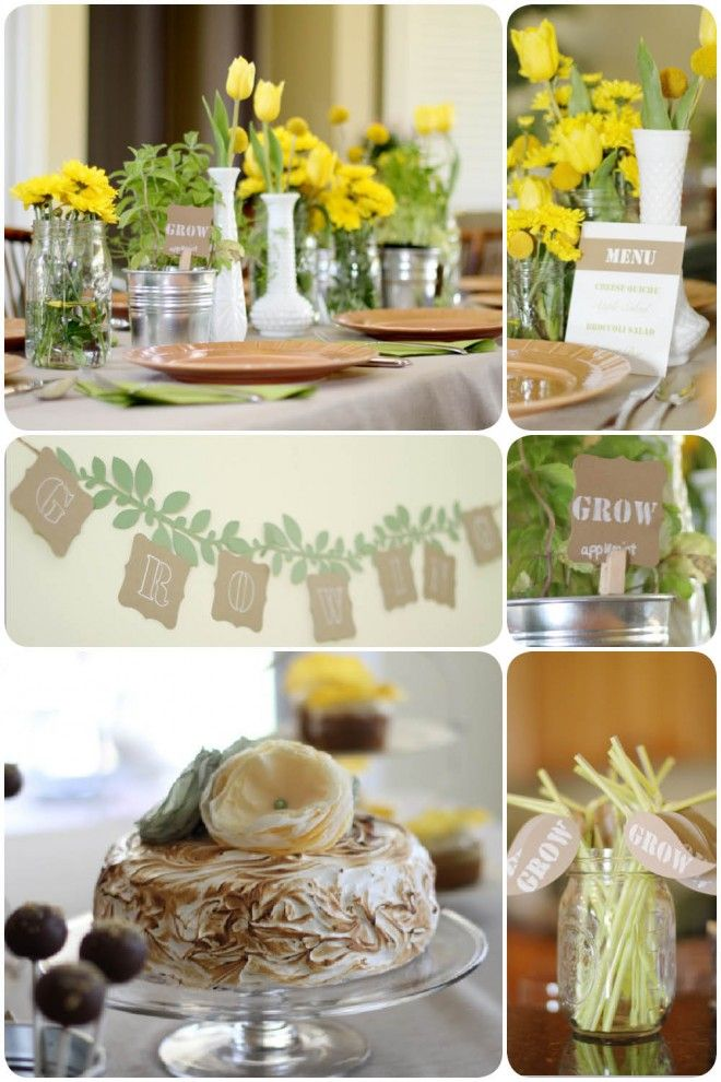80 Best Images About Garden Baby Shower Ideas On Pinterest
