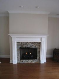 Lewisburg Wood Fireplace Mantel Custom | Wood Fireplace ...