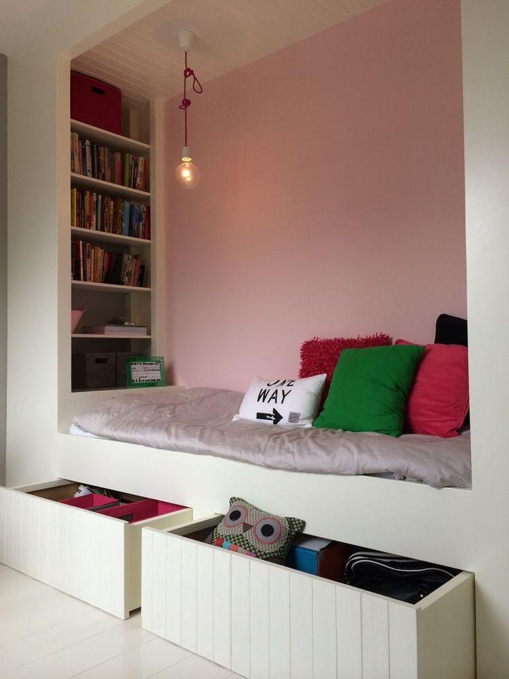 25 beste ideen over Kleine tiener slaapkamers op