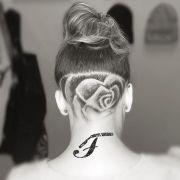hair tattoo design ideas