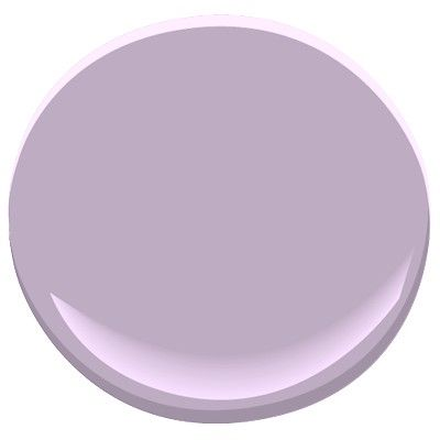 Lavender Lipstick by Benjamin Moore - perfect paint shade, purple but not too bright or overwhelming: