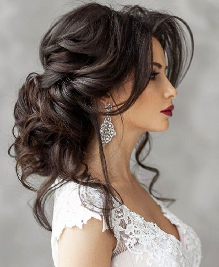 25 Best Ideas About Long Wedding Hairstyles On Pinterest Bridal