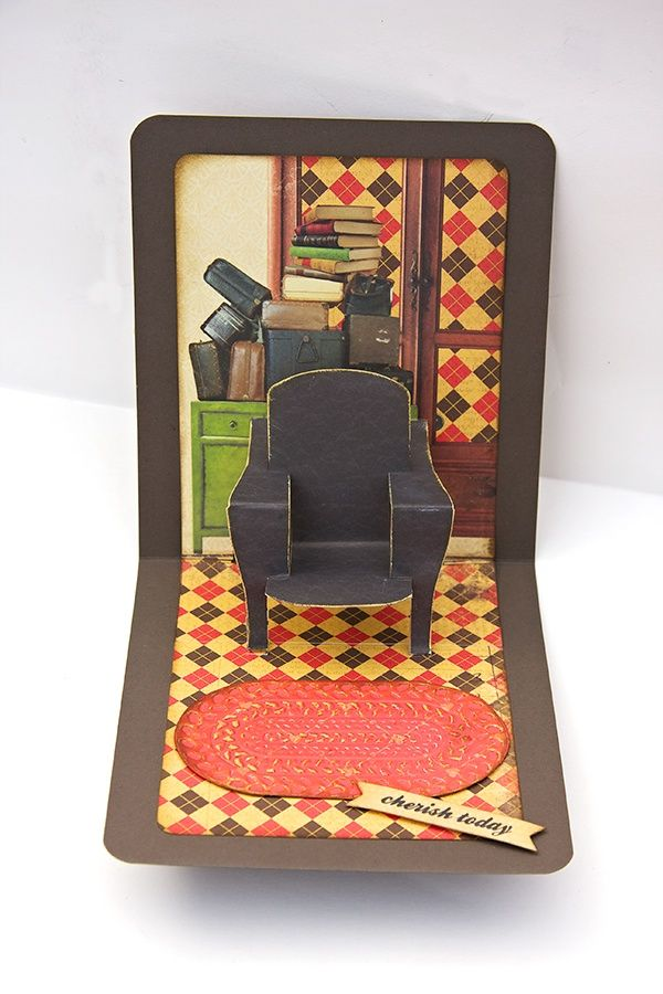 42 Best Images About Cards Pop N Cut Chair Insert On