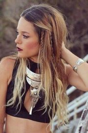 ideas boho hairstyles