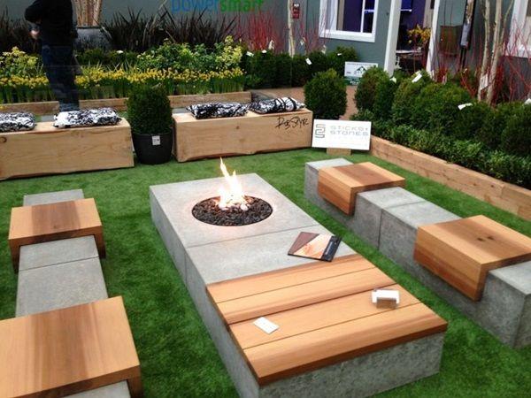25 Best Ideas About Fire Pit Designs On Pinterest Backyard