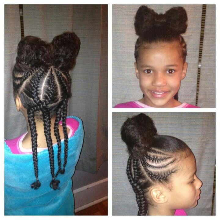 60 Best Images About Natural Kids Hair Bow Styles On Pinterest