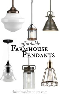 17 Best ideas about Farmhouse Pendant Lighting on ...