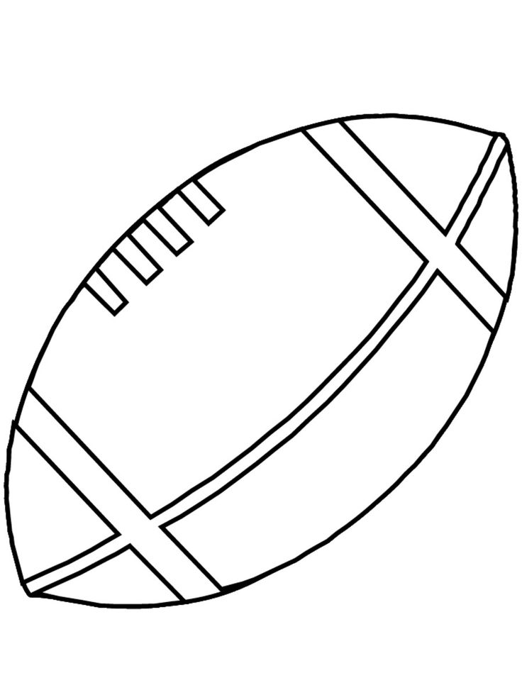 Football Coloring Pages For Kids http://procoloring.com