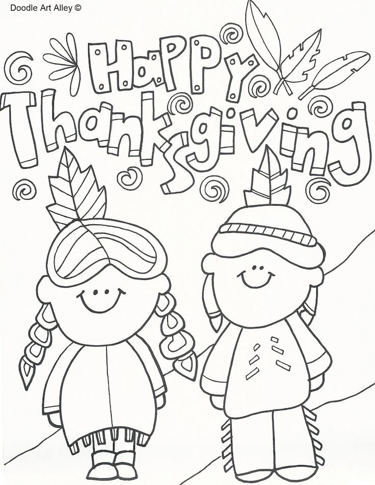 25+ best ideas about Thanksgiving coloring pages on