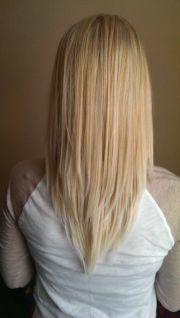 vcut blonde long layers pretty