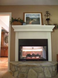 25+ best ideas about Double sided gas fireplace on ...