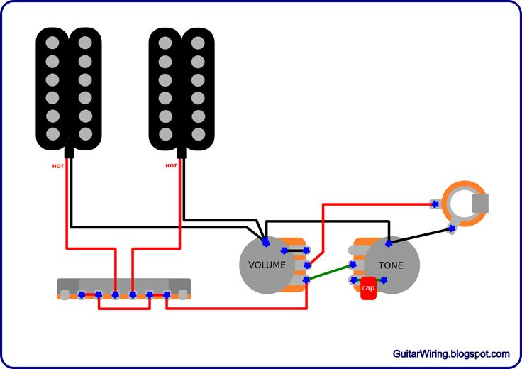 Wiring Diagram Symbols On Dimarzio B Pickups Wiring Diagram